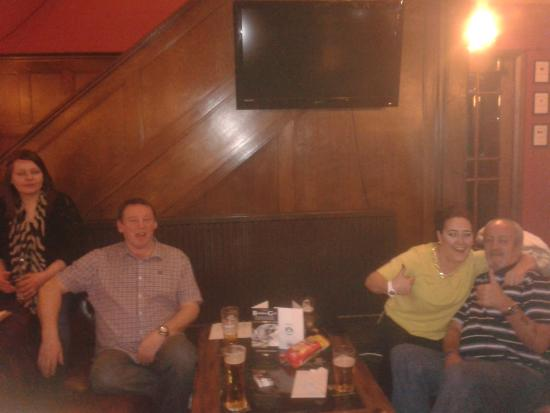 The Black Horse Hotel: This photo was on my first trip, right,Me & Tracy,left are owners Gary & Kat(Birthday).