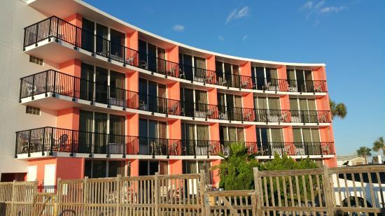 Cove motel oceanfront daytona beach floride voir les for Trouver un motel