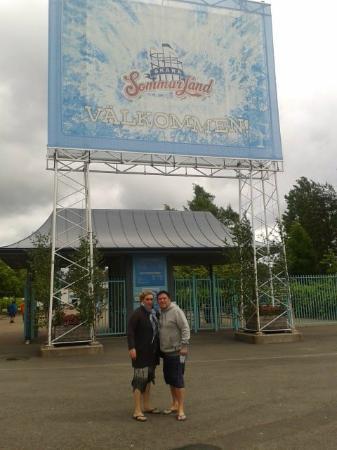 Skara Sommarland: Ingreso al parque