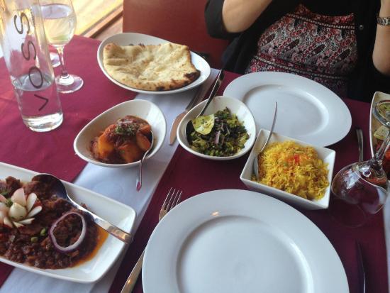 Kemsing, UK: above average Indian food