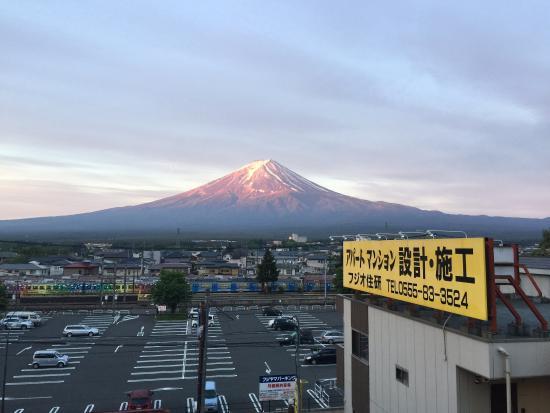 Plaza Inn Kawaguchiko: Чуть мешает реклама