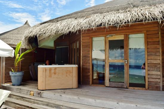 Kuramathi: Terraza Water Villa