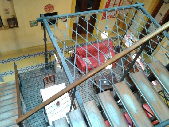 Portal del Sur Hostel: Área de descanso do hostel
