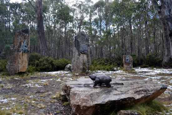 Tasmania I Drive: Tasmanian Sculptor Stephen Walker