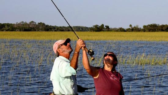 Explore barrier islands savannah ga omd men for Flying fish savannah ga