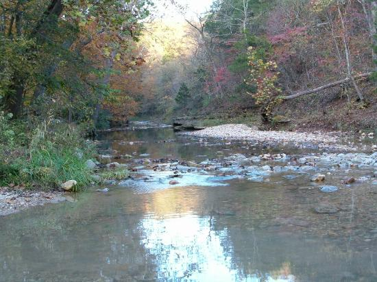 Warrenton, MO : The creek you have to drive across!
