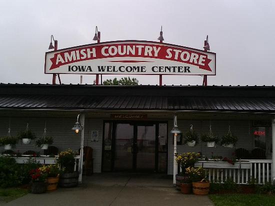 Lamoni, IA: Store entrance!