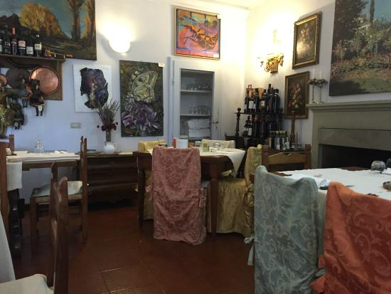 Antica Locanda e Country Chic : Sala interna / colazioni