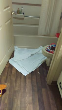 Extended Stay America - Boston - Westborough - Computer Dr.: some damage control by us