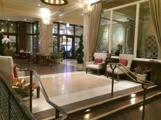 Villa Florence: lobby