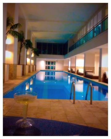 Indoor lap pool - Picture of The Cliff at Cupecoy Beach, Cupecoy Bay ...