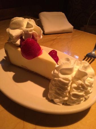 fresh strawberry cheese cake