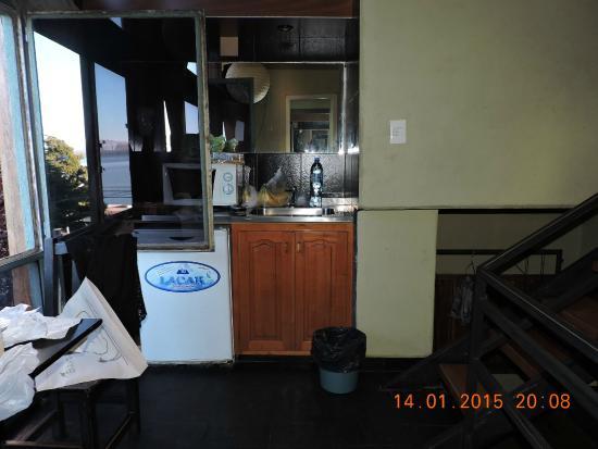 Appart Hotel Las Piedras: cocina-comedor