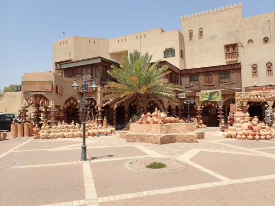 Nizwa, Omán: Entrance to the Souq