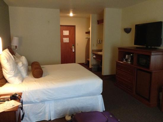 Wood River Inn & Suites : habitacion