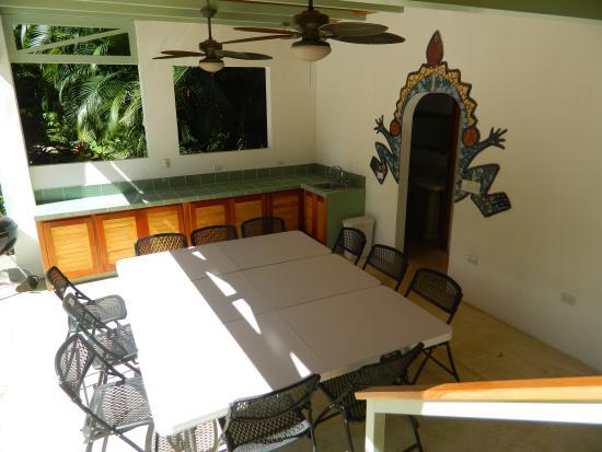 Villa Tortuga: BBQ Area