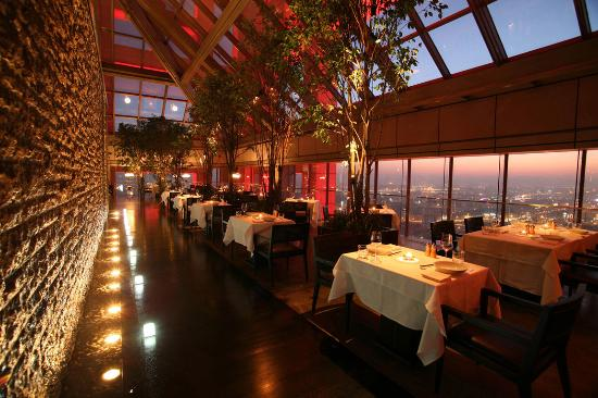 Park Hyatt Beijing: Magic Moment at China Grill on Level 66