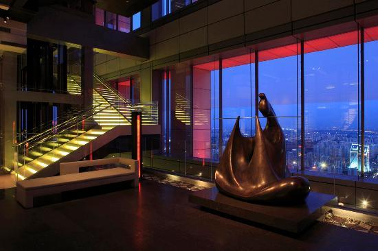 Park Hyatt Beijing: Sky Lobby on Level 63