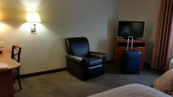 Candlewood Suites Indianapolis East: Handicap room