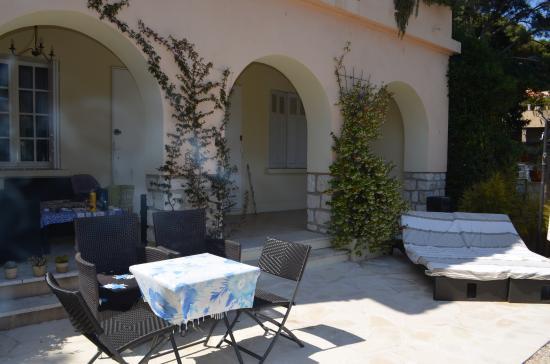 L'escale : stanza con giardino privato