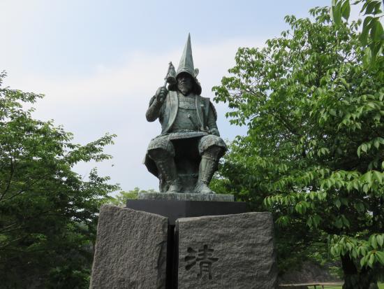 加藤清正公銅像
