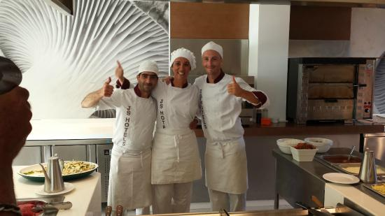Hotel JS Palma Stay : Showcooking- Personal