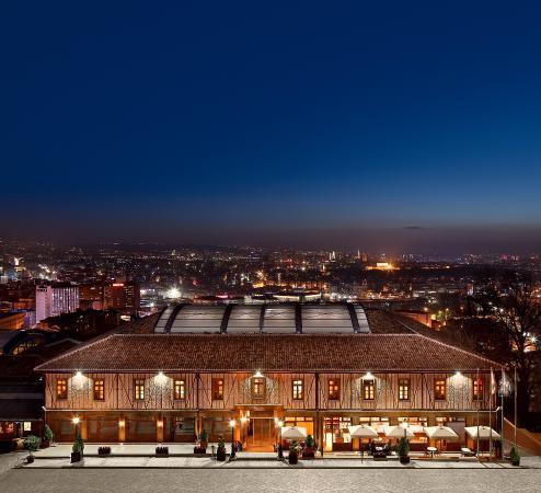 Divan Cukurhan: hotel view