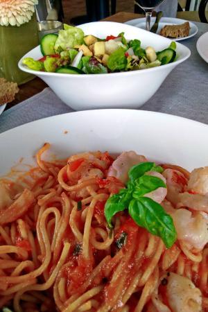 Lower Franconia, Alemania: Spaghetti Arabiata
