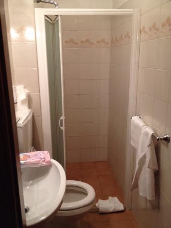 Hotel La Gioconda: Ecco in che condizioni sono i bagni
