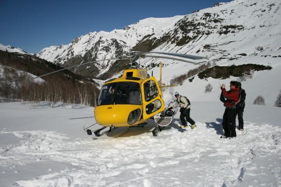 Eira Stylehotel: Heli-skiing