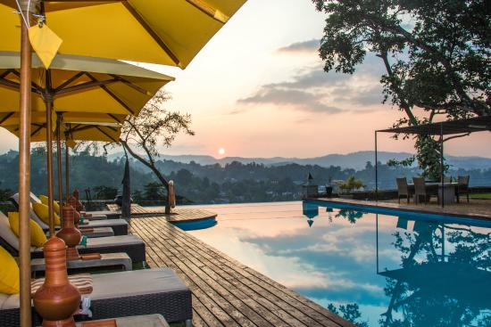 Elephant Stables: Sunset From The Pool Deck
