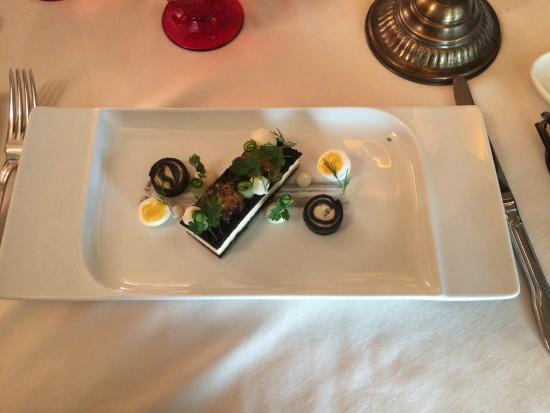 Arany Kaviar Restaurant: Salmon Blini