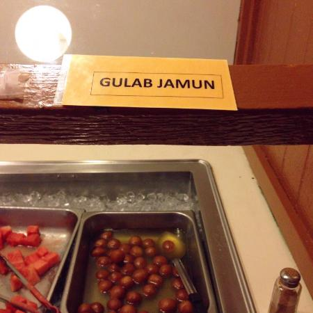 Yak The Kathmandu Kitchen: Gulab Jamun (milky spongy balls in rose scented syrup)