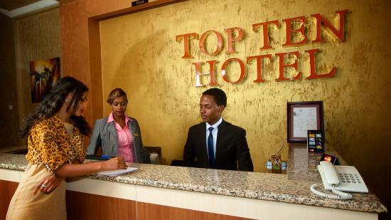 Top Ten Hotel: Top Ten Reception