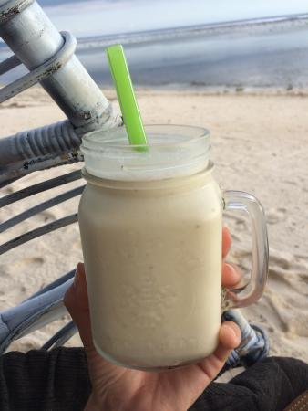 Casa Vintage Beach: Banana-Lime-Smoothie :)