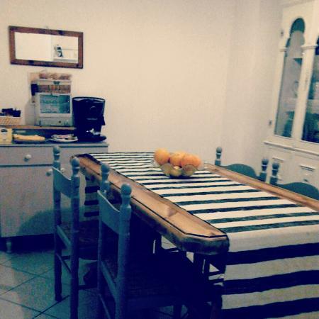 Urzulei, Włochy: sala per la colazione