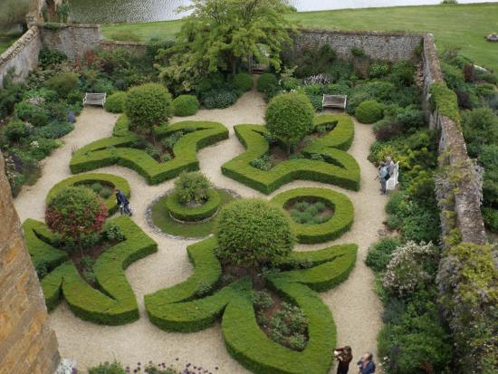 Broughton Castle: View from the roof!