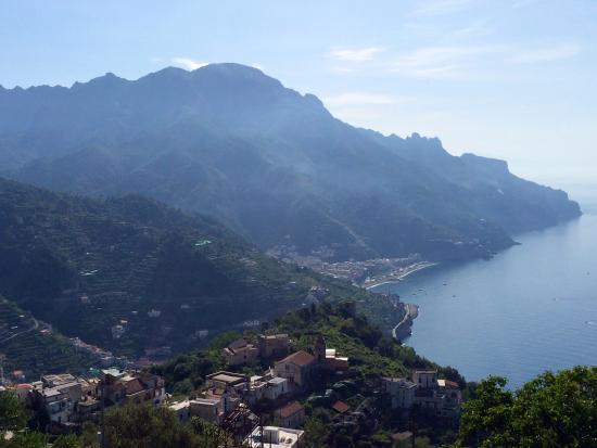 Tramonti, Italie : panorama