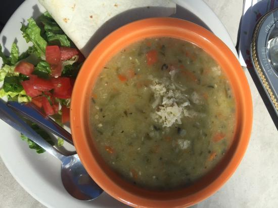 Eske's Brew Pub: green chili stew