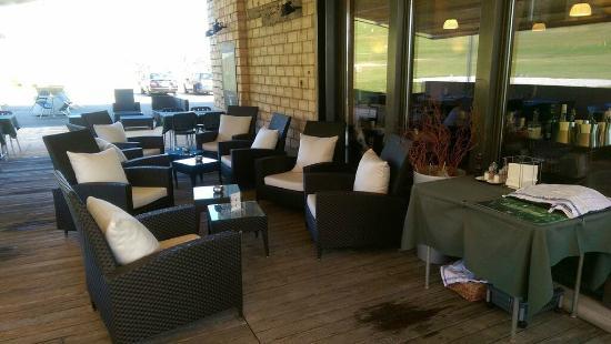 Oberburg, Schweiz: Terrasse Lounge