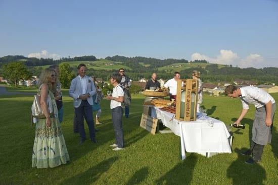 Oberburg, Schweiz: Wandertisch 2014