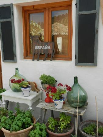 Cortijo Las Salinas: Outside the kitchen