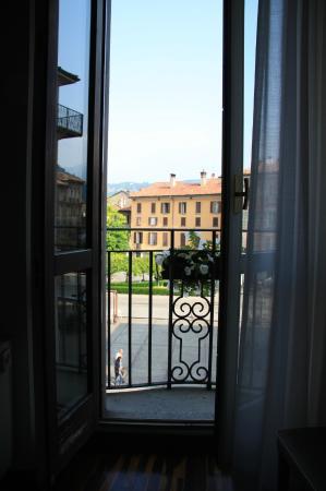 Albergo Firenze: Blick auf die Piazza