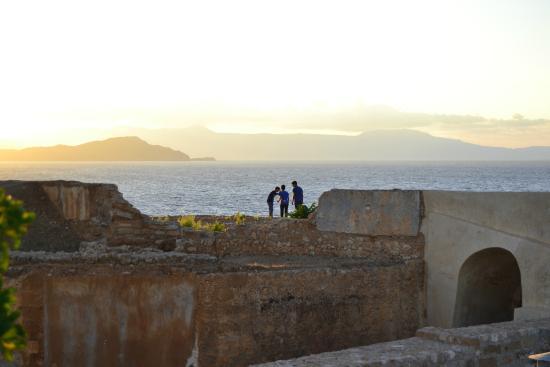 El Greco Hotel: il tramonto dal terrazzo