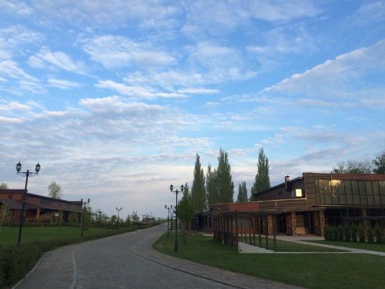 Park-hotel Vasilievsky: территория отеля