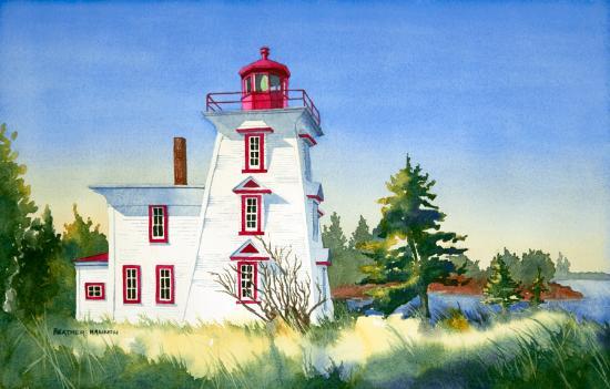 Heather Hannon Island Art Studio