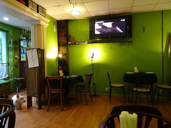 Sunduk: a corner of the restaurant