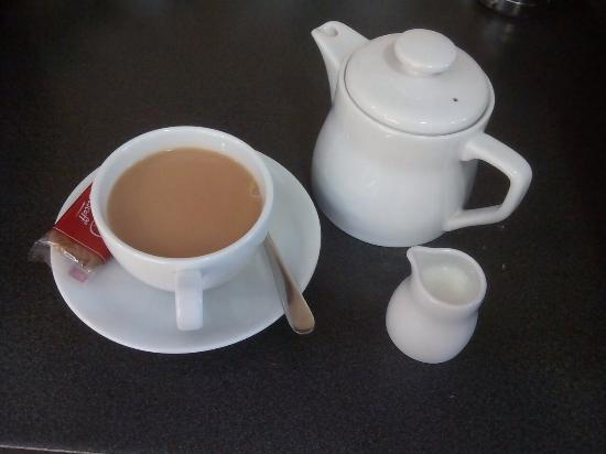 Castle Cary, UK: Tea at the place, larger than average pot and speciality tea no extra in price