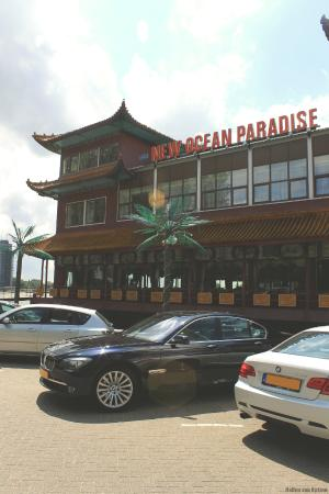 Front view of New Ocean Paradise