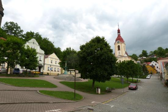 Stramberk, Czech Republic: plaza central